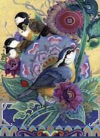 Garden Bird Trio Fine Art Print