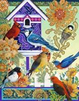 The Backyard Gathering Fine Art Print