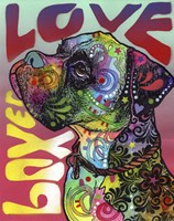Boxer Love Fine Art Print