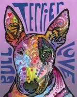 Bull Terrier Love Fine Art Print