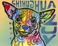 Chihuahua Luv Framed Print