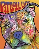 Pit Bull Luv Fine Art Print