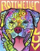Rottweiler  Luv Fine Art Print