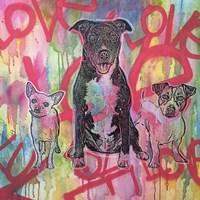Tres Amigos Fine Art Print