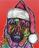 Christmas Dog Fine Art Print