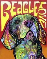 Beagle Love Fine Art Print