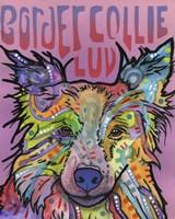 Border Collie Luv 2 Fine Art Print