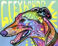 Greyhound Luv Fine Art Print