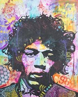 Hendrix 6 Was 9 Fine Art Print