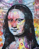 Mona Lisa Pop 2 Fine Art Print