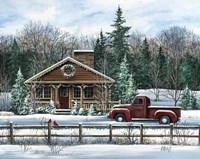 Country Christmas Fine Art Print