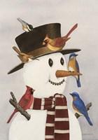 Frosty's Friends Fine Art Print
