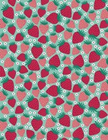 June Strawberries Fine Art Print