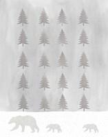Bear Trees Fine Art Print