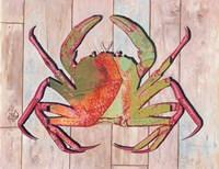 Contemporary Crab II Fine Art Print