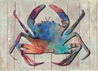 Contemporary Crab III Fine Art Print
