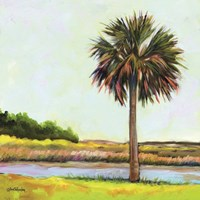 Marsh Palm Fine Art Print