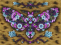 Blooming Animals - Butterfly 2 Fine Art Print