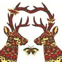 Deer Lovers Fine Art Print