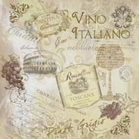 Italian Wine Fine Art Print