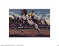 """Rodeo I by Clemente Micarelli - 10"""" x 8"""""""