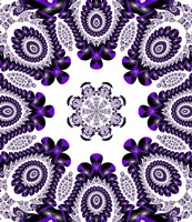 Mod Pod 2 Purple Fine Art Print
