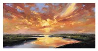Sunset Reflection Fine Art Print
