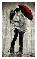 Rainfall and Kisses Fine Art Print