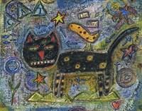 Funny Feline Fine Art Print