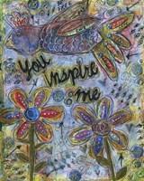 You Inspire Me Fine Art Print