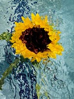 Submerged Sunflower 3 Fine Art Print