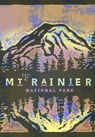 Mt Rainier Fine Art Print