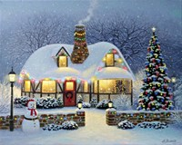 Candlelight Christmas Fine Art Print