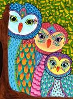 Night Owls 20 Fine Art Print