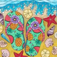 Tropical Paradise 2 Fine Art Print