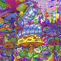 Pop Art Caterpillar Fine Art Print