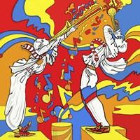 Horn Duo Fine Art Print