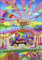 Magic Bus Fine Art Print