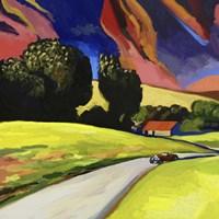 Pop Art - Retro - Landscape Fine Art Print