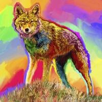 Pop Art - Wolf 3 Fine Art Print