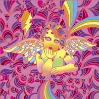 Pop Art - Cherub 2 Fine Art Print