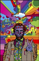 Psychedelic - Abe Fine Art Print