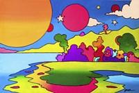 Pop Art Landscape Fine Art Print