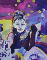 Audrey Hepburn Tiffanys Fine Art Print