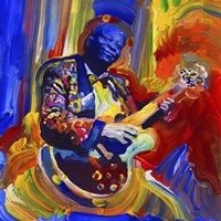 Bb King Fine Art Print