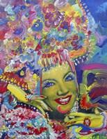Carmen Miranda Fine Art Print
