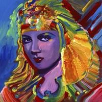 Claudette Colbert Cleopatra Fine Art Print