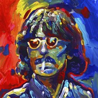 George Harrison Glasses Fine Art Print