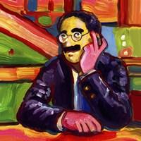 Groucho Marx Fine Art Print