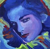 Lauren Bacall Fine Art Print